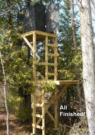 Hunting Ground Blinds On Sale 9 Free Deer Stand Plans In A Variety Of Sizes