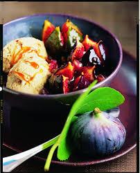 cuisiner figues fraiches recette figues fraîches rôties sauce caramel