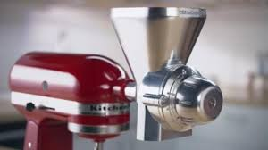 Kitchen Aid Standing Mixer by New Attachments Help Make Kitchenaid Stand Mixer A True U201cculinary