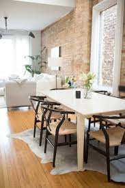 dining room sets for apartments co founder u0027s scandinavian inspired apartment chicago apartments