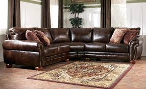 blackjack simmons brown leather sectional sofa chaise lounge