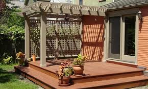 Ideas For Your Backyard Small Backyard Wood Decks Landscaping Gardening Ideas