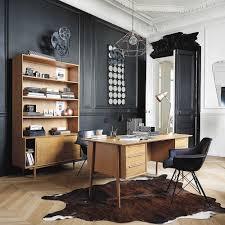 bureaux vintage bureau vintage en chêne massif maisons du monde