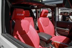 pink jeep interior dub magazine lftdxlvld monsters x tacos jeep truck meet anaheim