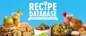 healthy recipe database delicious healthy recipes