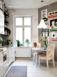 black and white retro kitchen upholstery leatherette kitchen