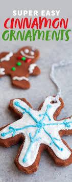 easy cinnamon ornaments wholefully
