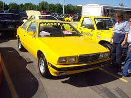 maserati yellow 1986 maserati biturbo coupe by mister lou on deviantart