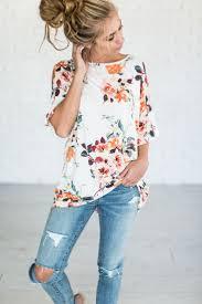 best 25 floral tops ideas on pinterest floral clothing floral