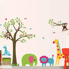 Jungle Wall Decals Compare Prices On Baby Jungle Wallpaper Online Shopping Buy Low