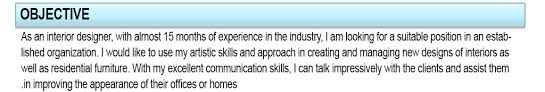 Best Resume Title For Freshers by My Objective Resume Professional Resume Objectives Samples My
