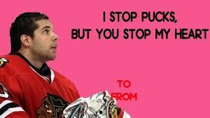 hockey valentines cards hockey hockey valentines sports