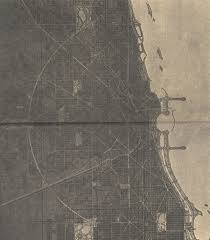 Aerial Map Of Chicago by Vbi Map Overlays