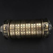 s day present six digit all metal cryptex s day present christmas