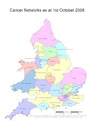 Somerset England Map Map 1 4 Cancer Networks In England And Wales