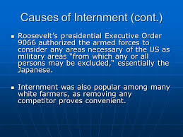 Potential Essay Topics     Compare and Contrast the strategies of     Roosevelt     s presidential Executive Order      authorized the armed forces