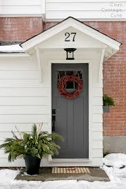 cozy cottage cute our exterior side entry door colour iron
