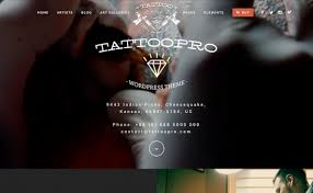 tattoo pro tattoo shop wordpress theme wpexplorer