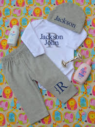 monogram baby items newborn boy coming home newborn boy clothes newborn baby