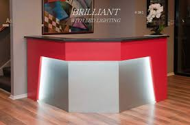 Acrylic Reception Desk First Impressions Reception Desk Series Aspire Design Furniture