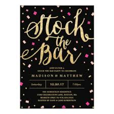 stock the bar party engagement stock the bar gifts on zazzle
