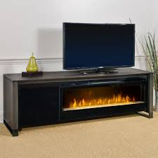 setting electric fireplace media console u2014 kelly home decor