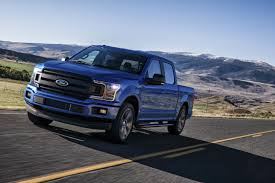 truck ford blue 2018 ford f 150 pickup tougher smarter more capable than ever