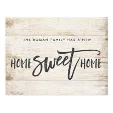 new home new home postcards zazzle