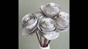 tutorial kerajinan tangan dari kertas gulung kerenn membuat kerajinan miniatur dari kertas koran youtube