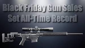 black friday firearm deals gun sales daily bulletin