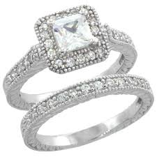 vintage square engagement rings wholesale sterling silver wedding engagement rings page 9