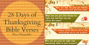28 days of thanksgiving bible verses free printable thanksgiving