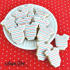 sugar dot cookies nautical baby shower sugar cookies with royal