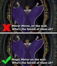 Mirror Mirror On The Wall Snow White The Mandela Effect Blowing Your Mind One Memory At A Time