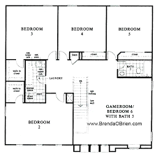 floor plans for 5 bedroom homes black ranch floor plan kb home model 3589 upstairs