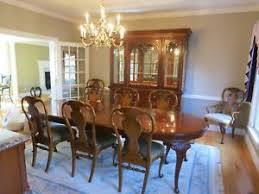 11 dining room set 11 drexel heritage dining room set with 8 chairs