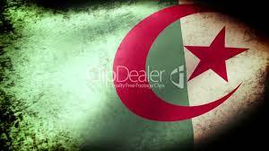 Algerian Flag Algeria Flag Waving Grunge Look Royalty Free Video And Stock Footage