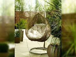 Patio Egg Chair Hanging Rattan Egg Chair By Living It Up Living It Up Day Room