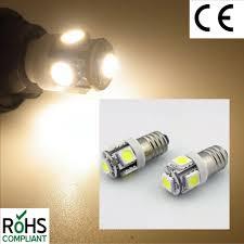 6v led lamp e10 6 volt warm white bicycle torch no polarity