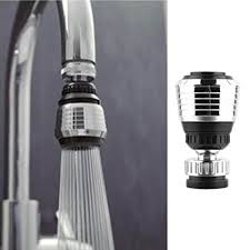 kitchen faucet swivel aerator 360 rotate swivel faucet nozzle filter adapter water
