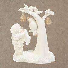 snow bunny figurines snowbabies figurines ornaments