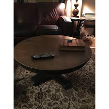 Round Living Room Table by Crate U0026 Barrel Round Coffee Table Aptdeco