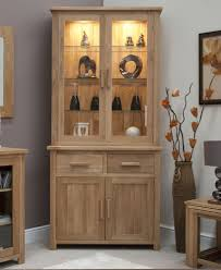 boston glazed dresser small cabinet with light solid oak dining