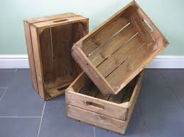 wooden crate everything is handmade to order great crates