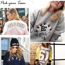pick your team how to customize your sweatshirt model approved blog