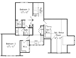 traditional style house plan 4 beds 3 00 baths 2899 sq ft plan