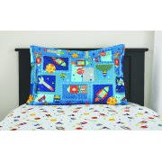 Space Bed Set Mainstays Space Bed In A Bag Coordinating Bedding Set