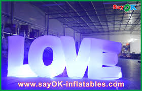 Outdoor Inflatables Lighting Yard Inflatables Outdoor Decorations Cloth
