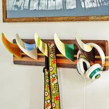 cool wall hooks furniture corner black wooden coat rack with