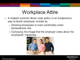 how to avoid summer workplace issues ppt download
